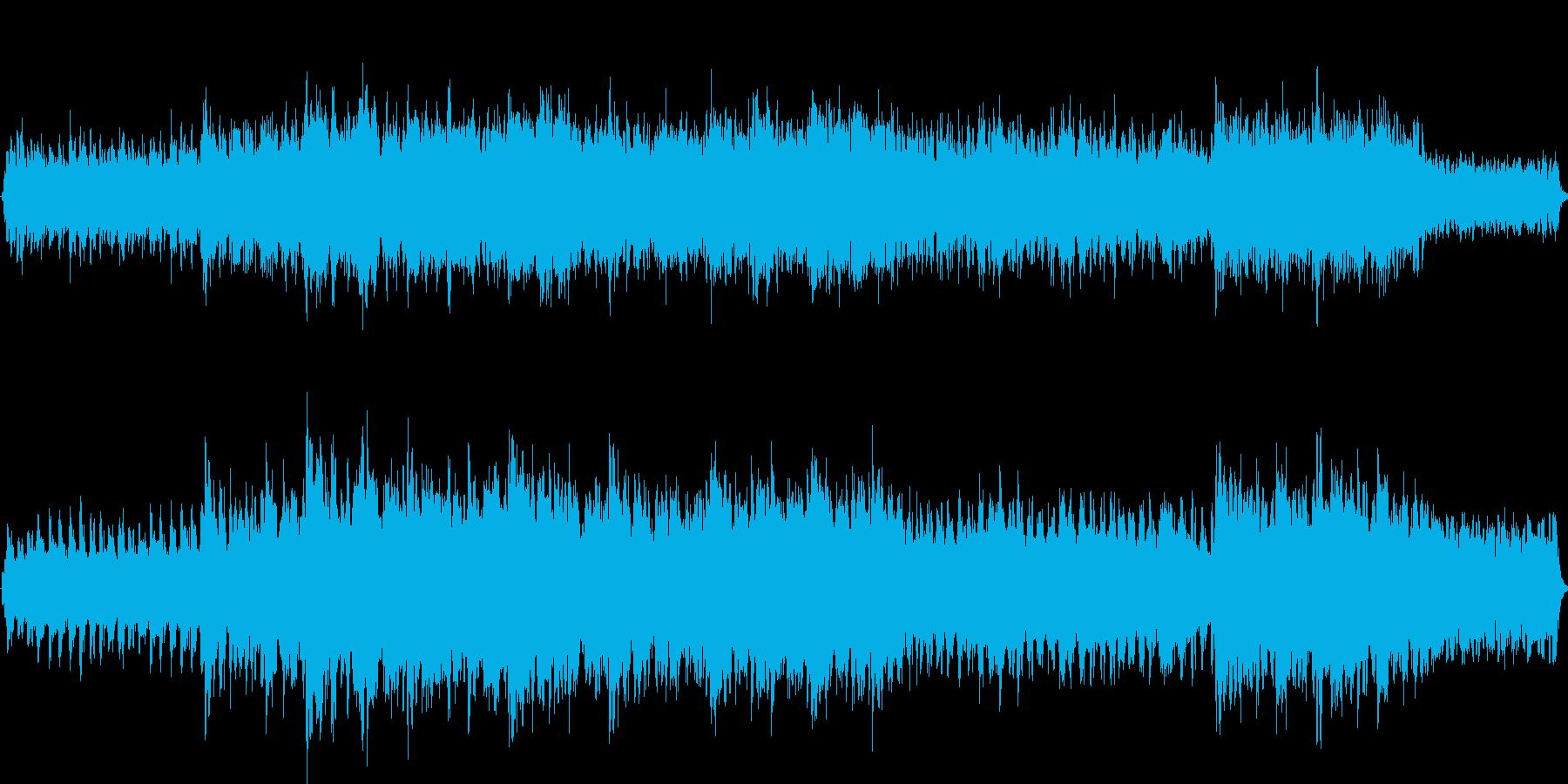 美しい歌声の響く優しく幻想的なヒーリングの再生済みの波形