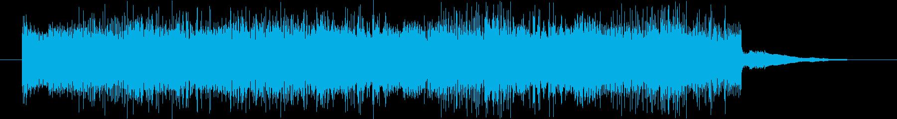 音量注意!緊急時の警報(ノイズ&アラームの再生済みの波形