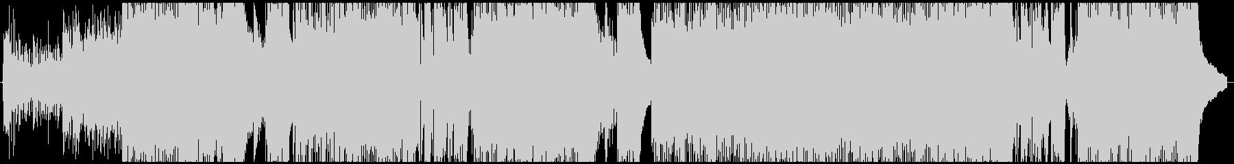 【メロ抜き】エモい四つ打ちポップの未再生の波形