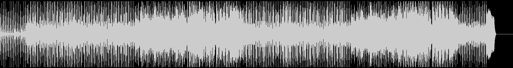 会話シーン向けのリコーダーとピアノBGMの未再生の波形