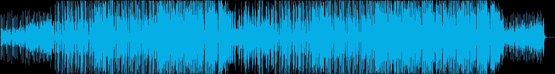EDM系 フューチャーベース風な曲 -4の再生済みの波形