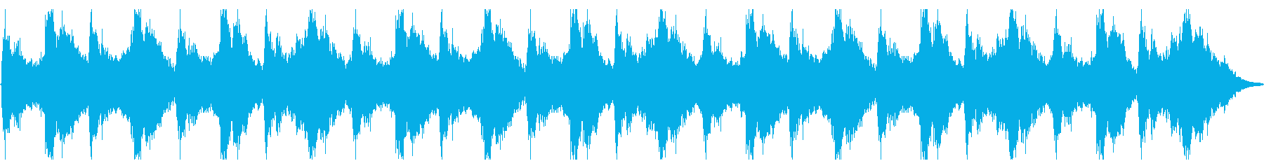 不安定なバイオリンの不穏なBGMの再生済みの波形