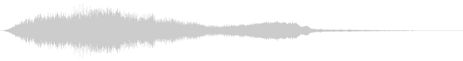空間異常1の未再生の波形