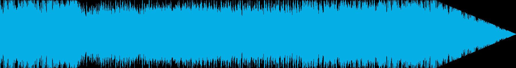 華やかで晴れ晴れしいBGMの再生済みの波形