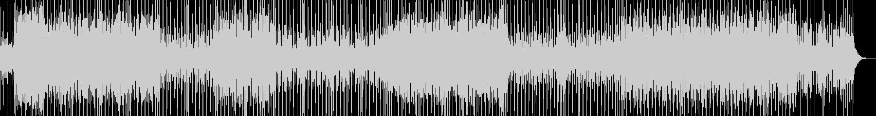 不思議なリズムとコード感のBGMの未再生の波形