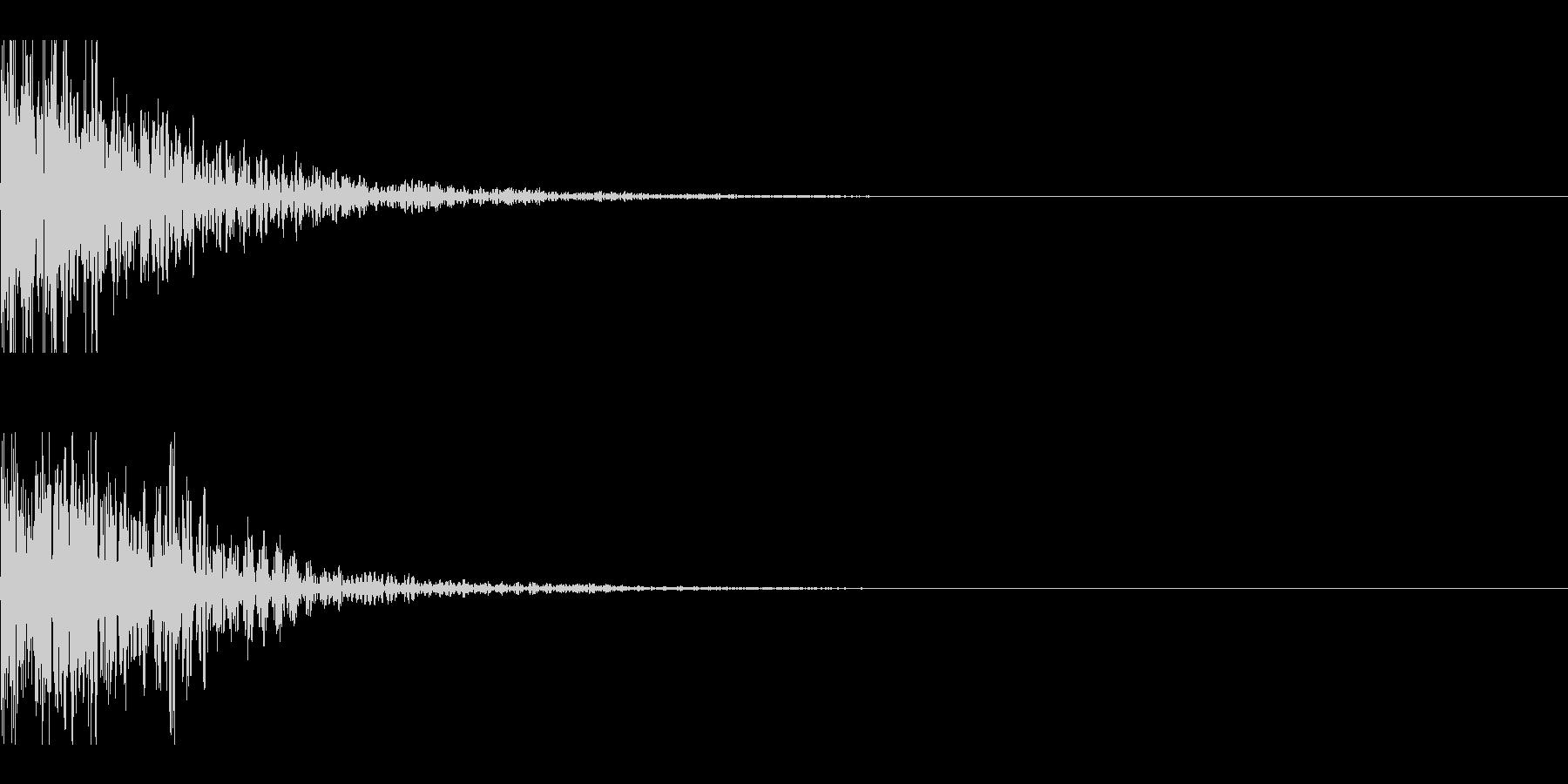 和太鼓 ドドン05の未再生の波形