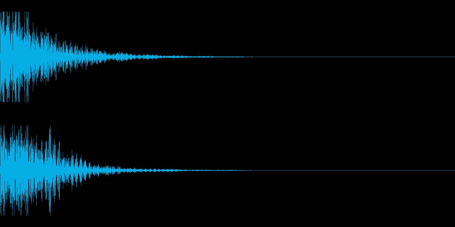 和太鼓 ドドン05の再生済みの波形