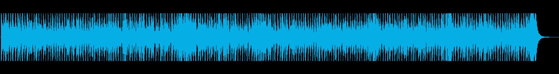 楽し気なカントリーフォークの再生済みの波形