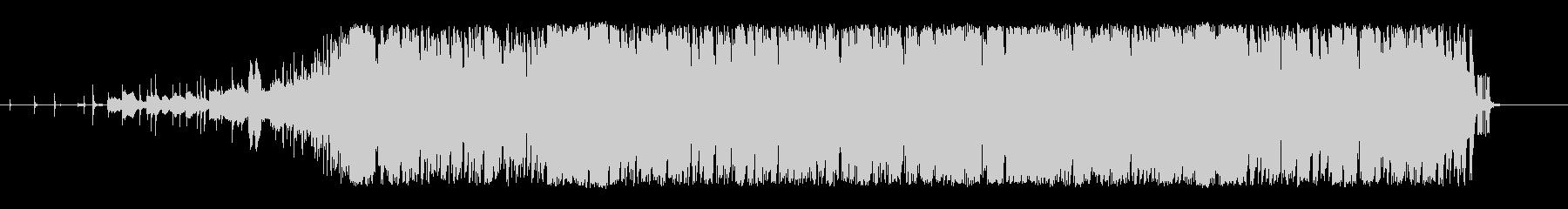 インダストリアル、かっこいいピアノシンセの未再生の波形