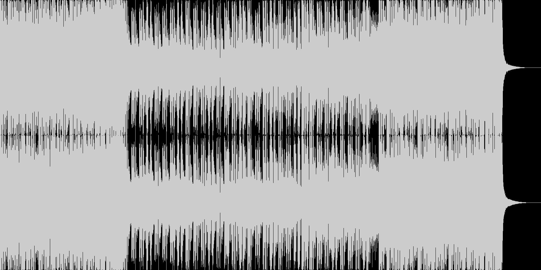 【和風】堂々とした和風ロックの未再生の波形