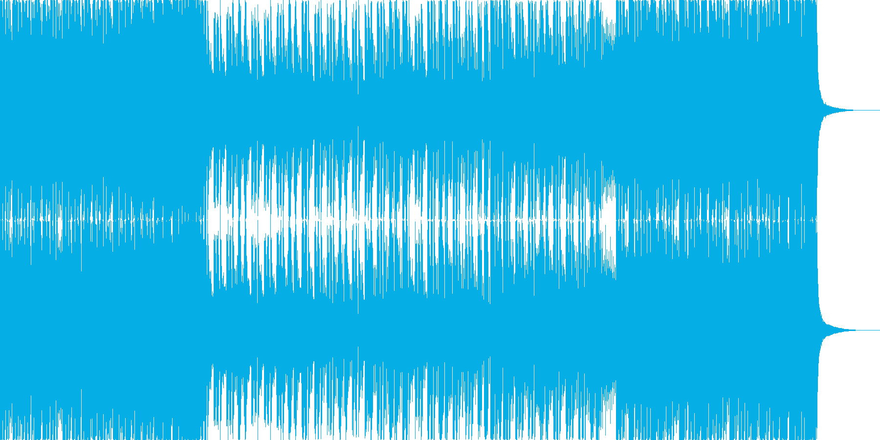 【和風】堂々とした和風ロックの再生済みの波形