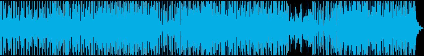 夏のメロディックなポップミュージックの再生済みの波形