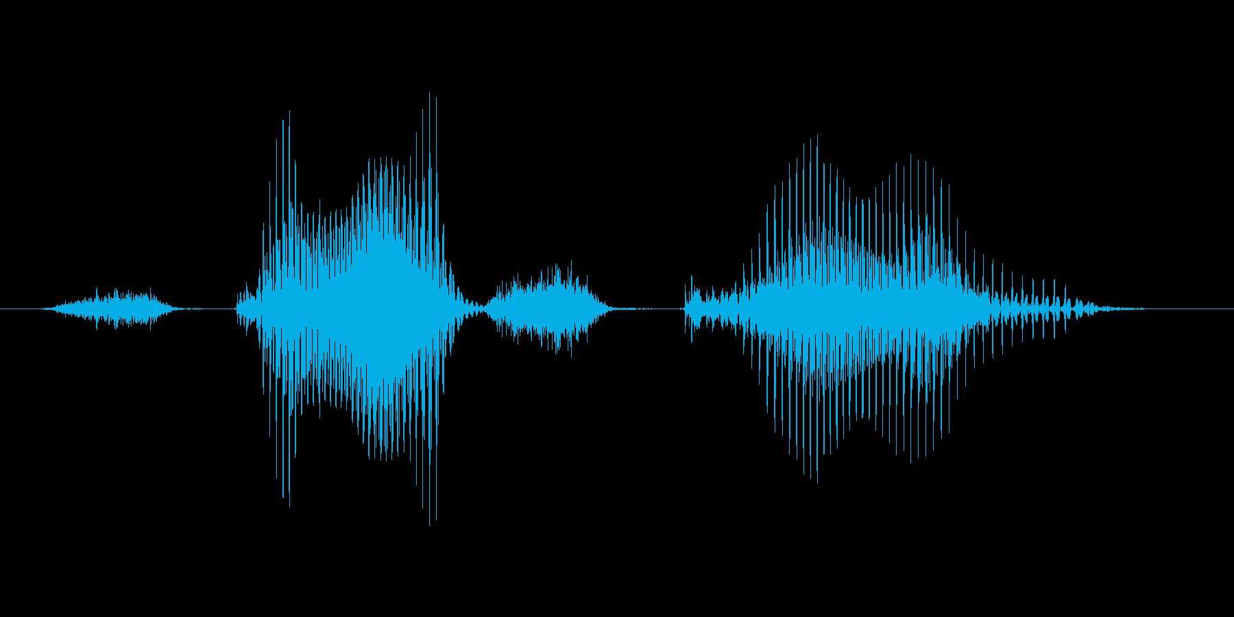 ステージ10(てん)の再生済みの波形