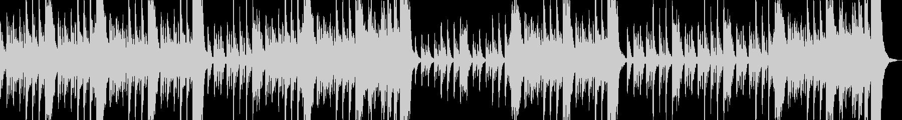 ハロウィン向け不気味な雰囲気のBGMの未再生の波形