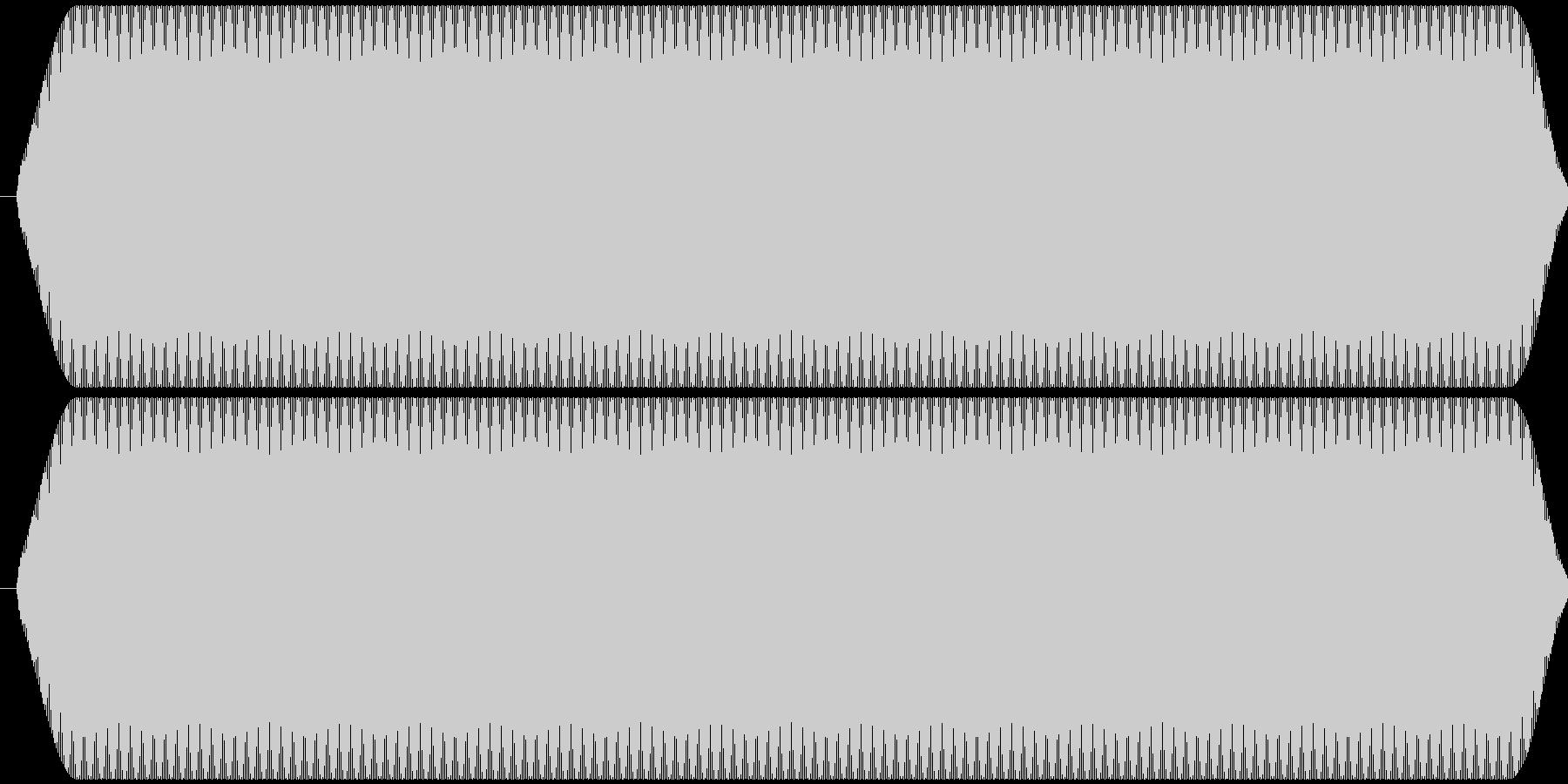 ピー音 自主規制音 (約0.5秒)の未再生の波形