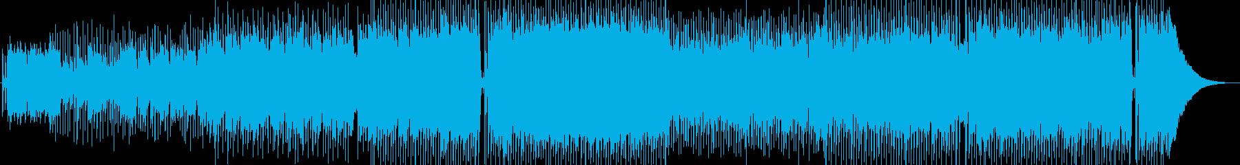 天然素材を感じさせるのカントリーサウンドの再生済みの波形