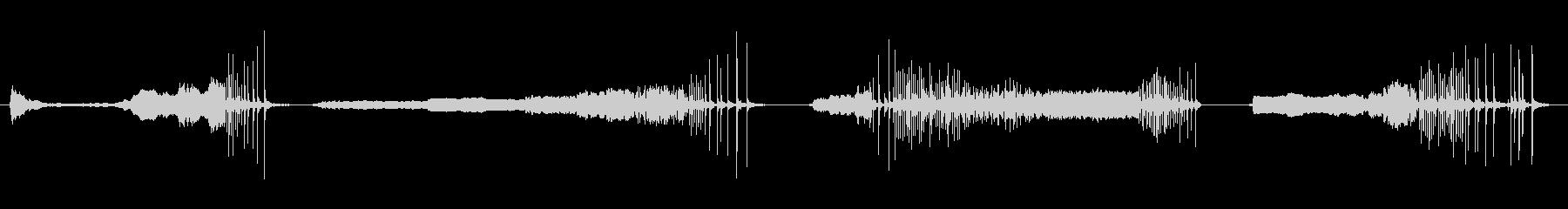 ドアウッドクリーク非常に長いx4の未再生の波形