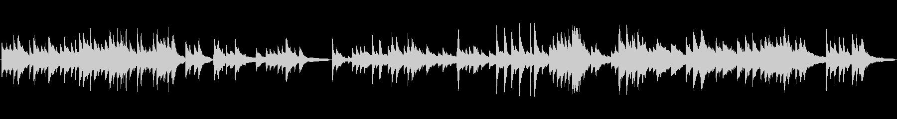 冬のように切ないピアノソロ、ループ音源の未再生の波形