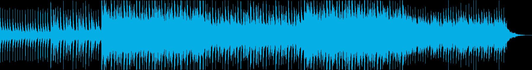 さわやかな雰囲気のテクノ(MIX2)の再生済みの波形