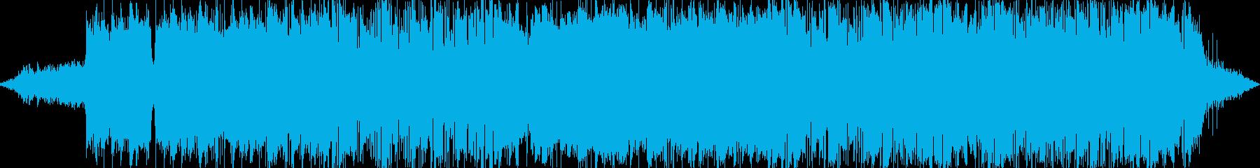 エレクトロニック サスペンス 静か...の再生済みの波形