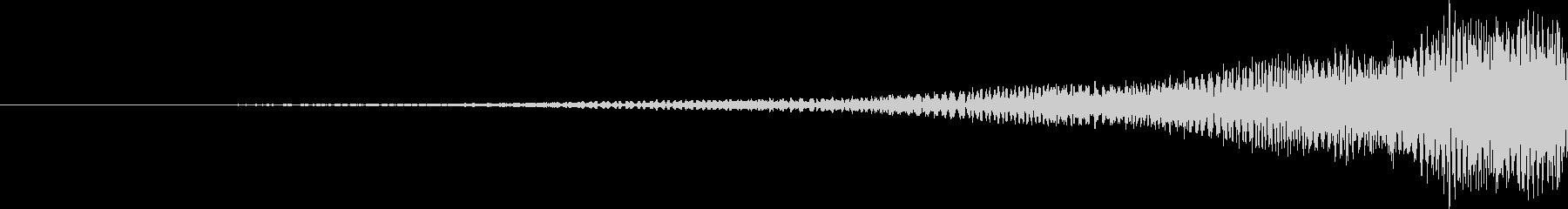 起動・スタート・立ち上げ・インパクト音の未再生の波形