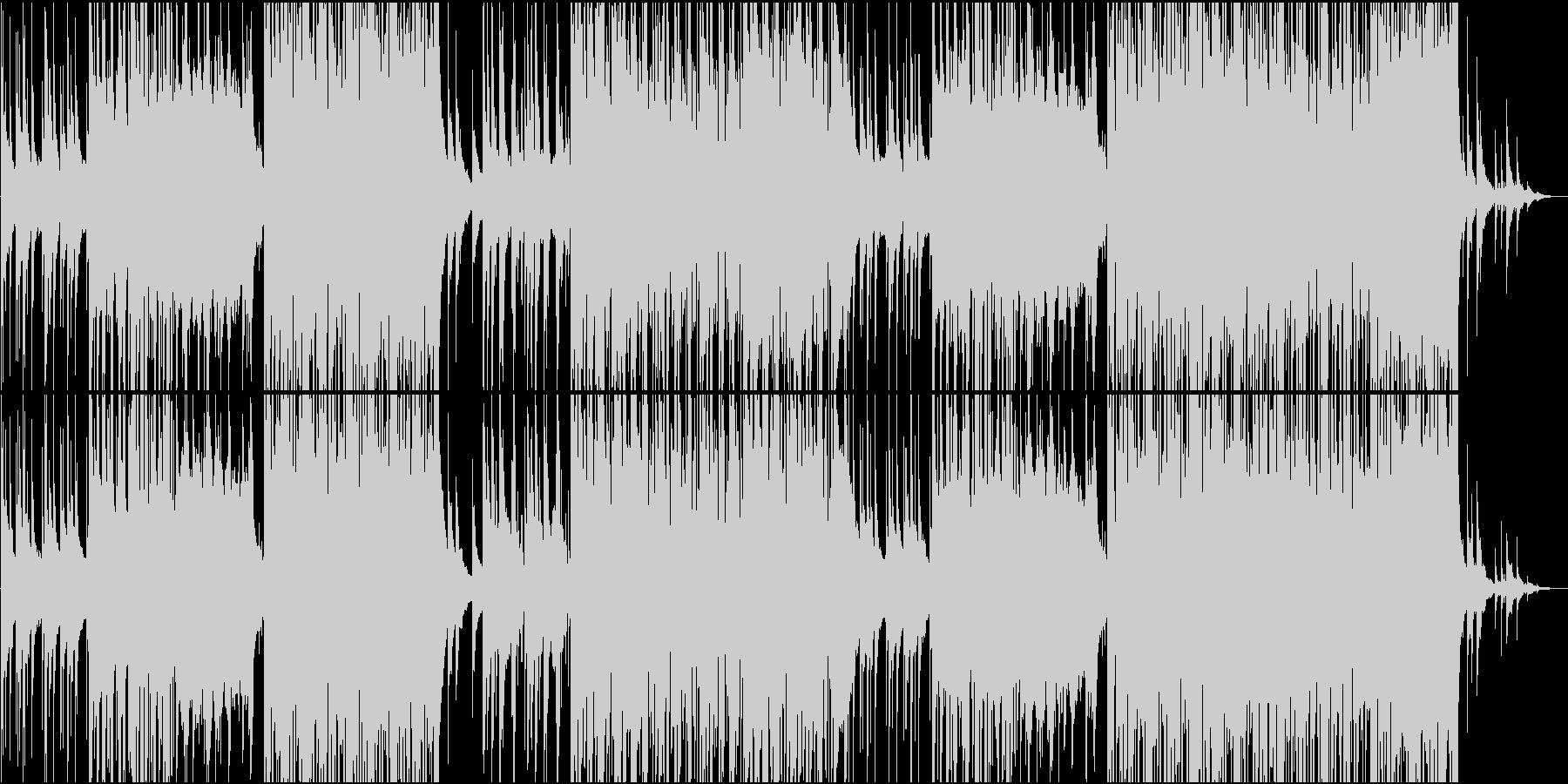 切ないピアノのFutureBassの未再生の波形