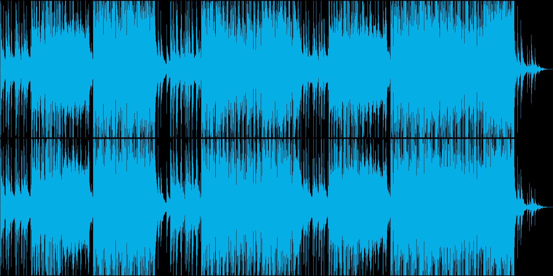 切ないピアノのFutureBassの再生済みの波形