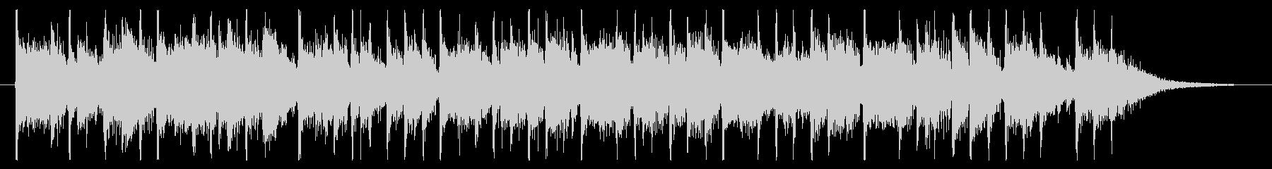 16秒程度のジングルの未再生の波形