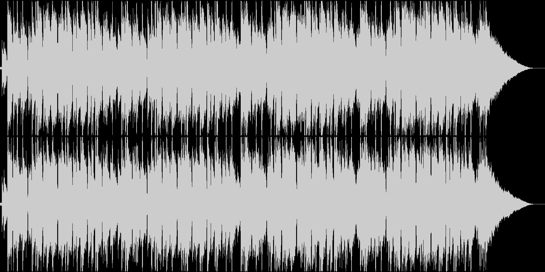 ラウンジ、ジャズ、ボッサの未再生の波形