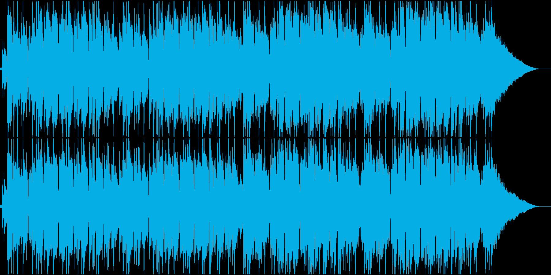 ラウンジ、ジャズ、ボッサの再生済みの波形