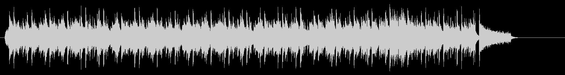 ポカポカ陽気ののどかなポップなレゲエの未再生の波形