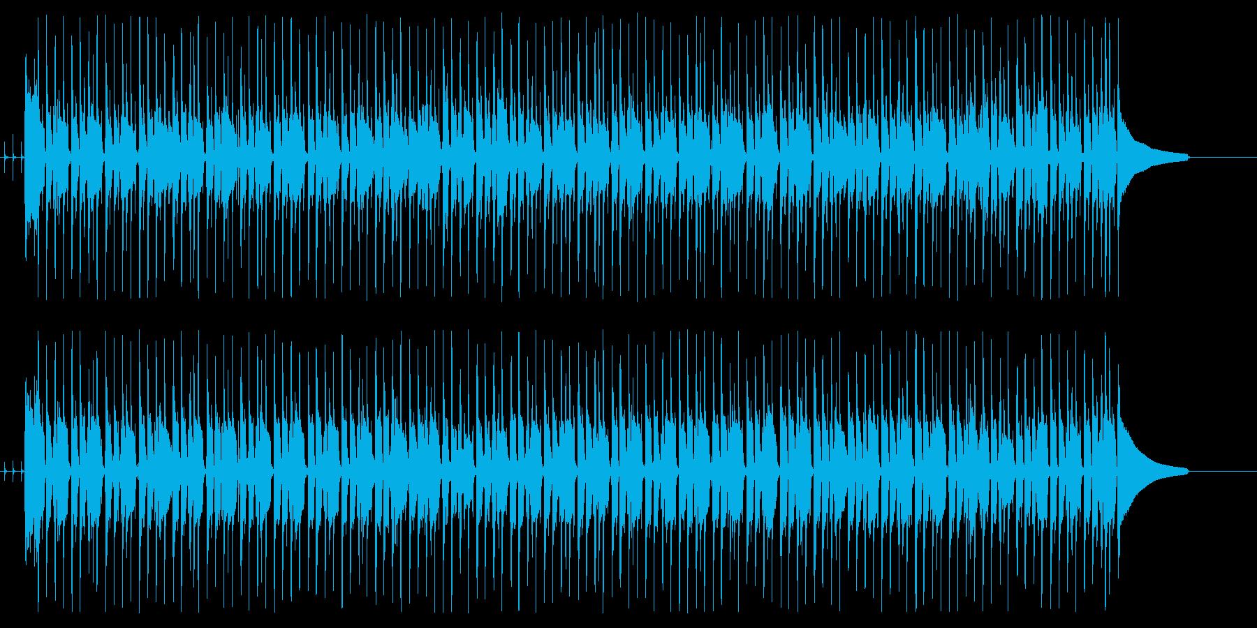 使いやすいファンク ギター無し版の再生済みの波形