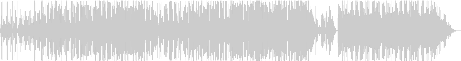 アコースティックロックの未再生の波形