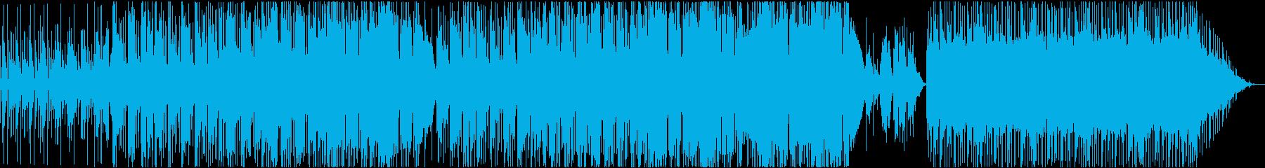 アコースティックロックの再生済みの波形