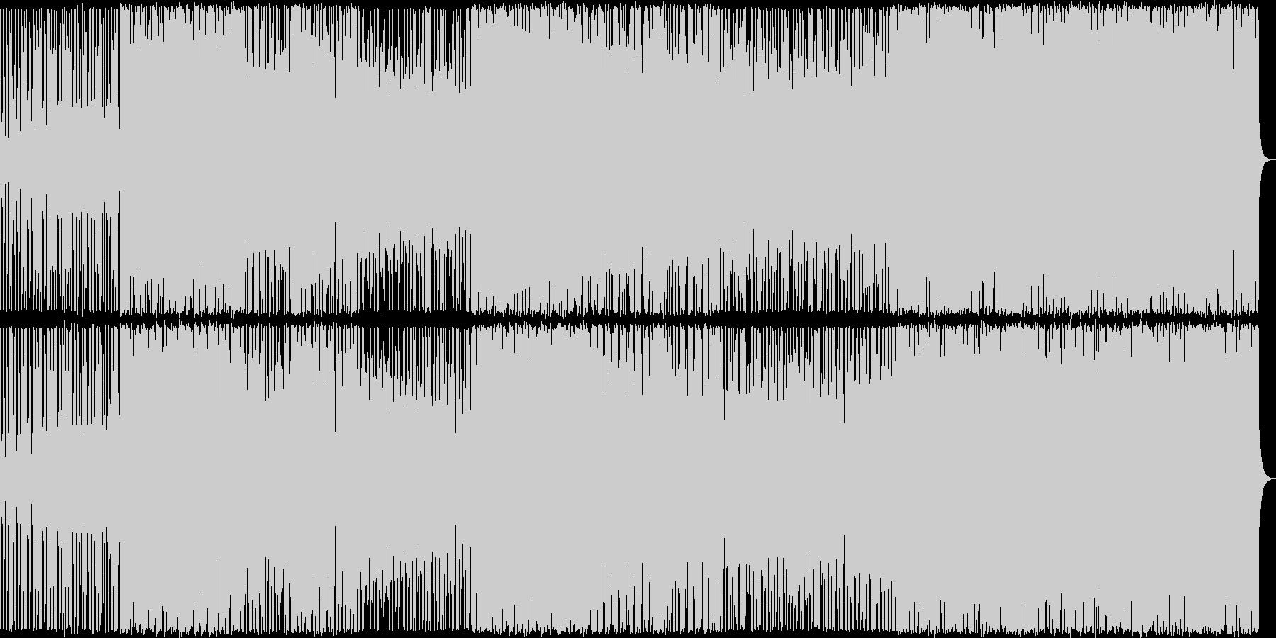【メロディ抜き】三味線主体のかっこいい…の未再生の波形