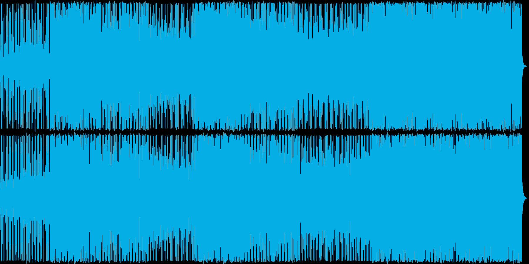 【メロディ抜き】三味線主体のかっこいい…の再生済みの波形
