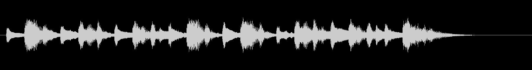 ストリングスによる不思議な感じのジングルの未再生の波形