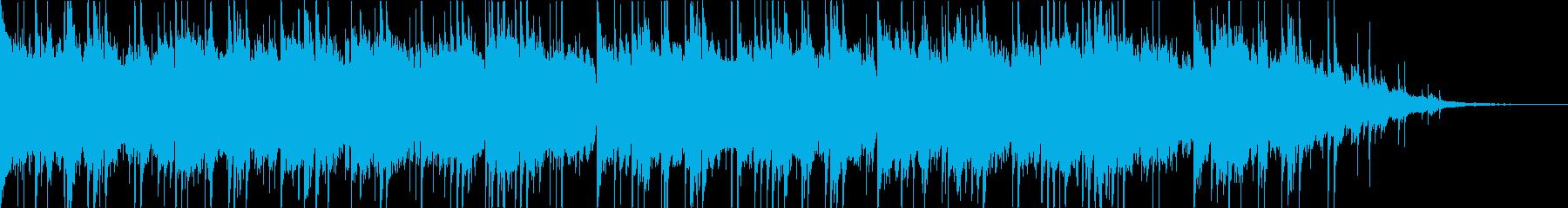 「癒しの旅アジア」オリエンタルな音楽の再生済みの波形