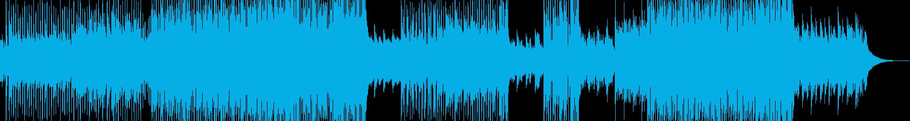 幻想的な夜明け・テクノポップ 前奏無しの再生済みの波形