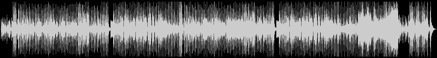 のどかな雰囲気のリコーダーの未再生の波形