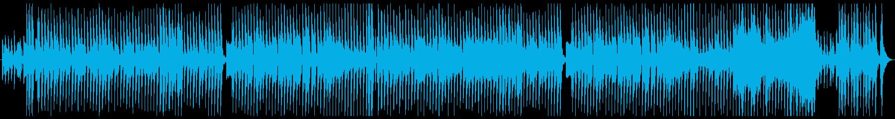 のどかな雰囲気のリコーダーの再生済みの波形