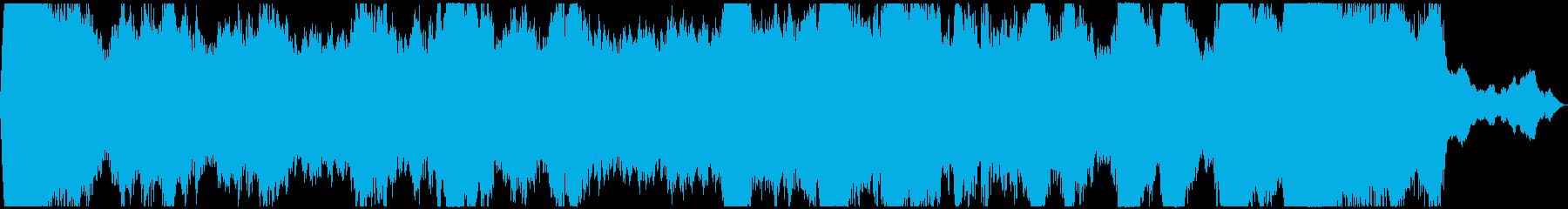 PADS 低音01の再生済みの波形