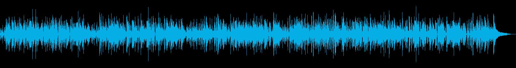 ピアノジャズ料理カフェ系YouTubeの再生済みの波形
