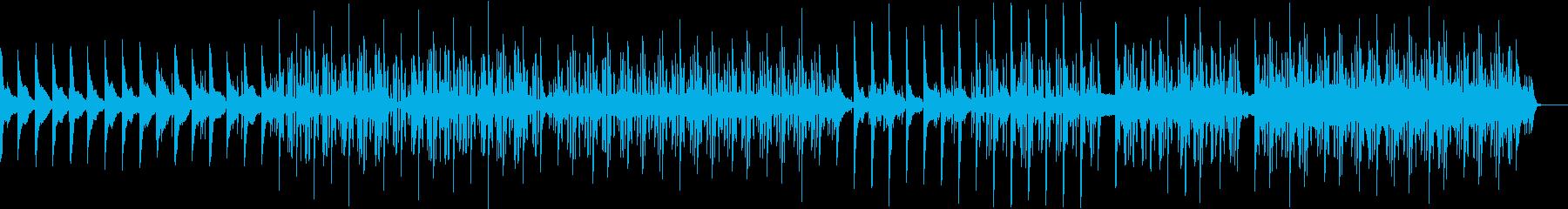 ピアノとストリングスの哀愁的卒業ソングの再生済みの波形