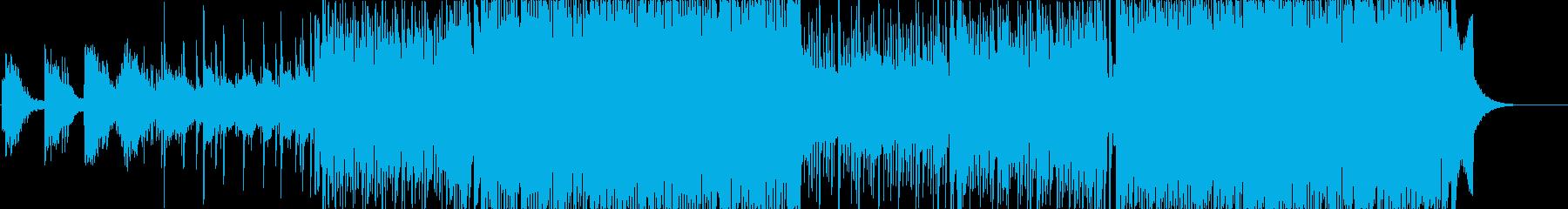 疾走感のある80年代サウンド①の再生済みの波形