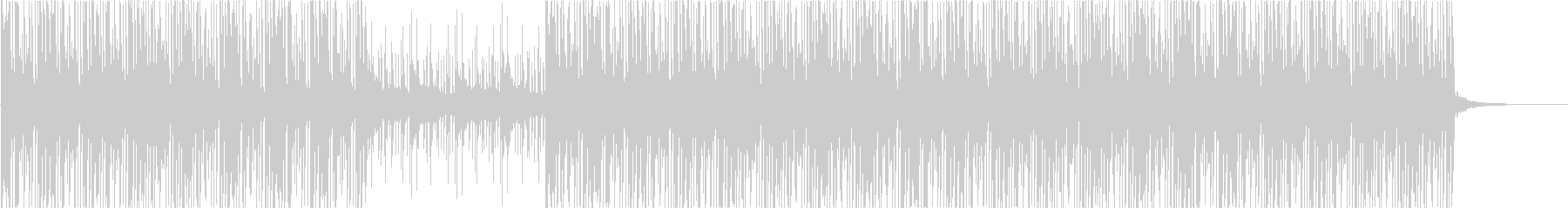 80s-90s style electronic music's unreproduced waveform