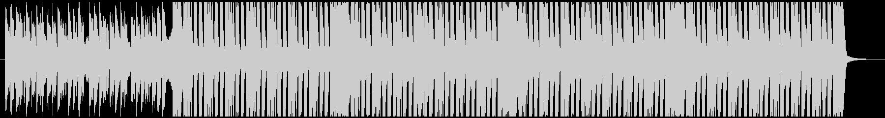 アラビアンなエレクトロミュージックの未再生の波形