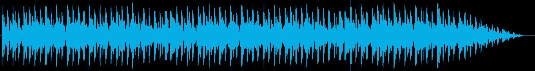 ポップ。シリアルコード、ポジティブ...の再生済みの波形