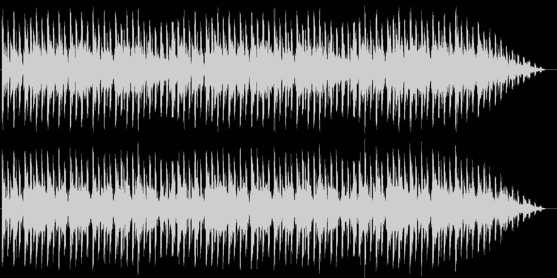 ポップ。シリアルコード、ポジティブ...の未再生の波形