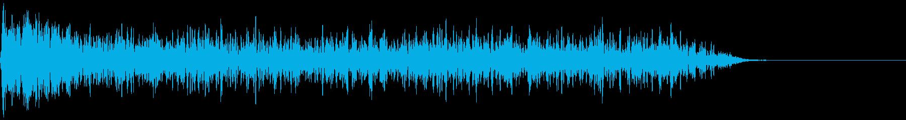 【ホラー】SFX_01 鐘が響く暗闇の再生済みの波形
